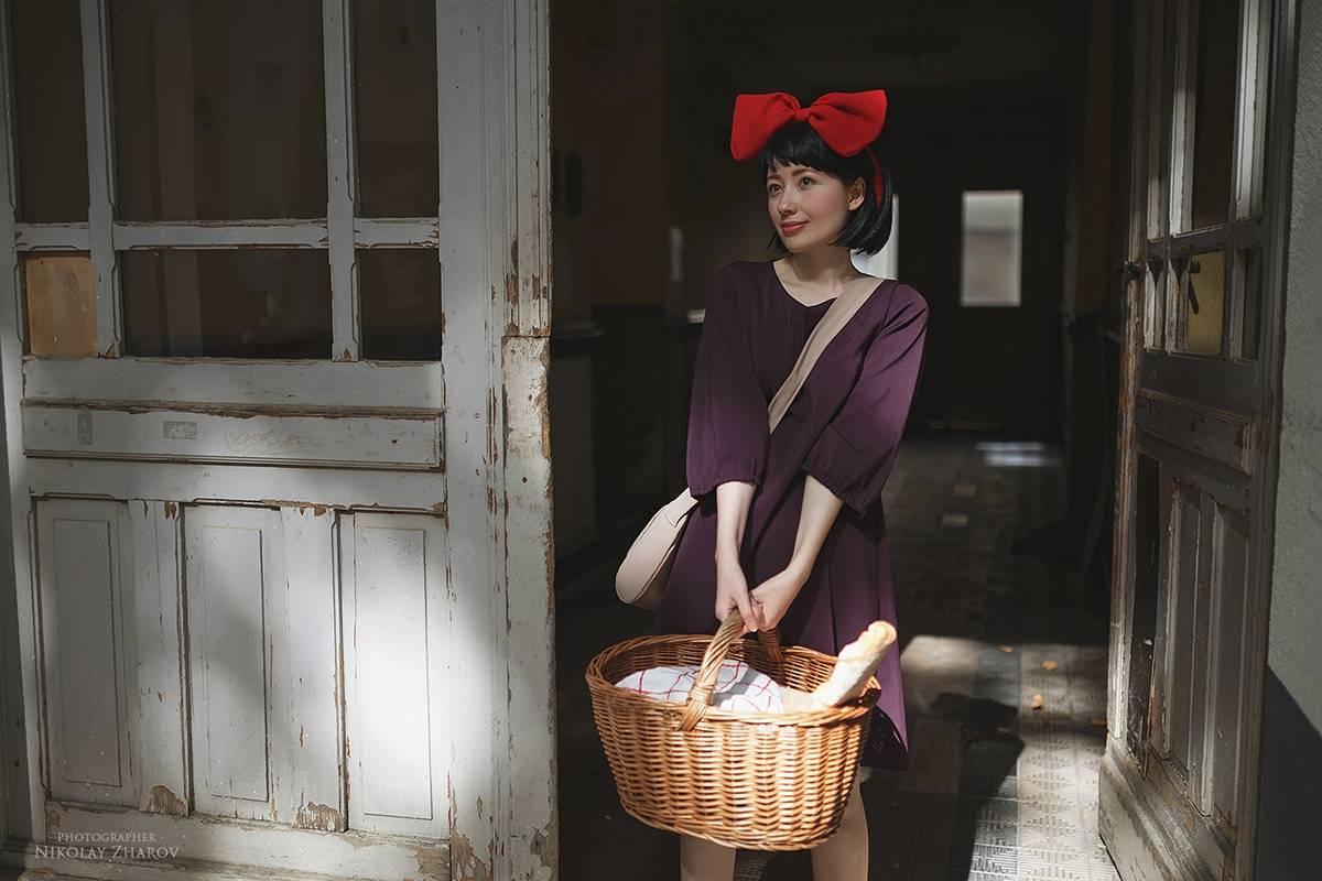 Косплей: Кики из«Ведьминой службы доставки» 4