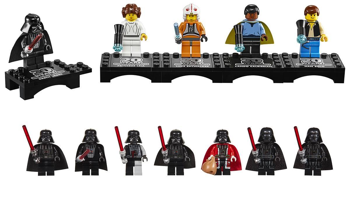 Lego выпустила пять наборов к 20-летию Lego Star Wars 1