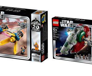 Lego выпустила пять наборов к 20-летию Lego Star Wars