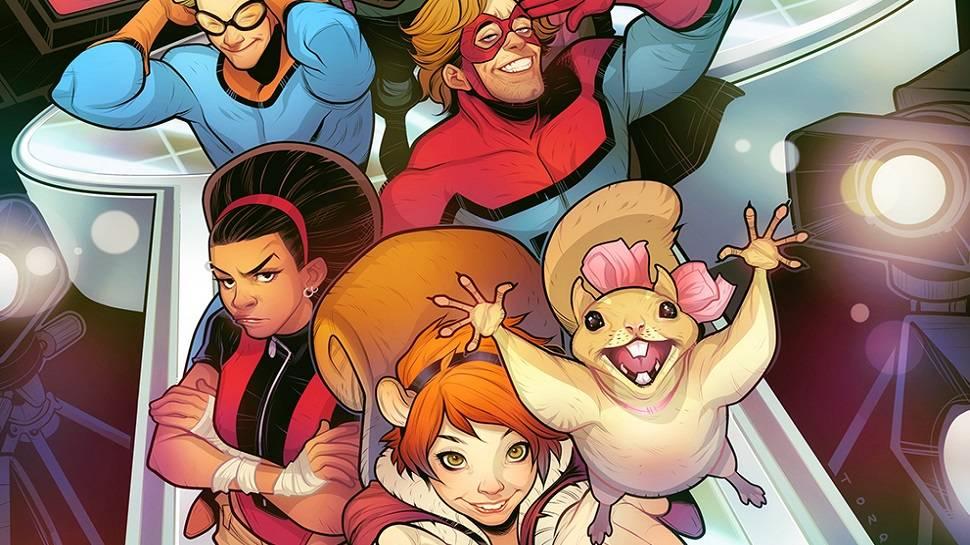 Неснятые сериалы по комиксам Marvel 4