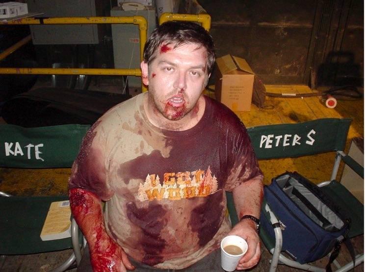 Фото: Эдгар Райт поделился снимками со съёмок «Зомби по имени Шон» в честь 15-летия фильма 8