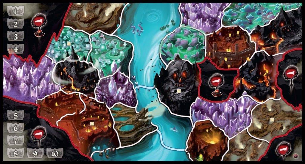 Настольная игра Small World: Подземный мир 3