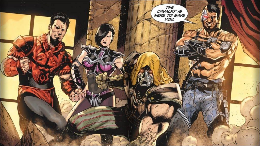Кровавая Санта-Барбара. Вселенная Mortal Kombat 12