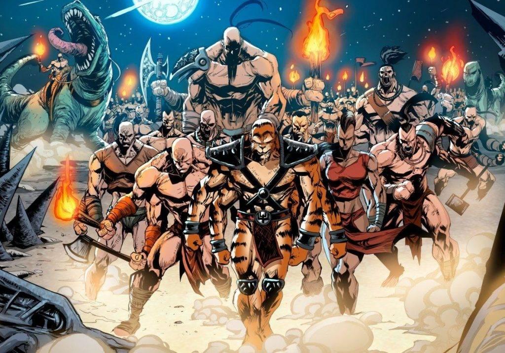 Кровавая Санта-Барбара. Вселенная Mortal Kombat 15