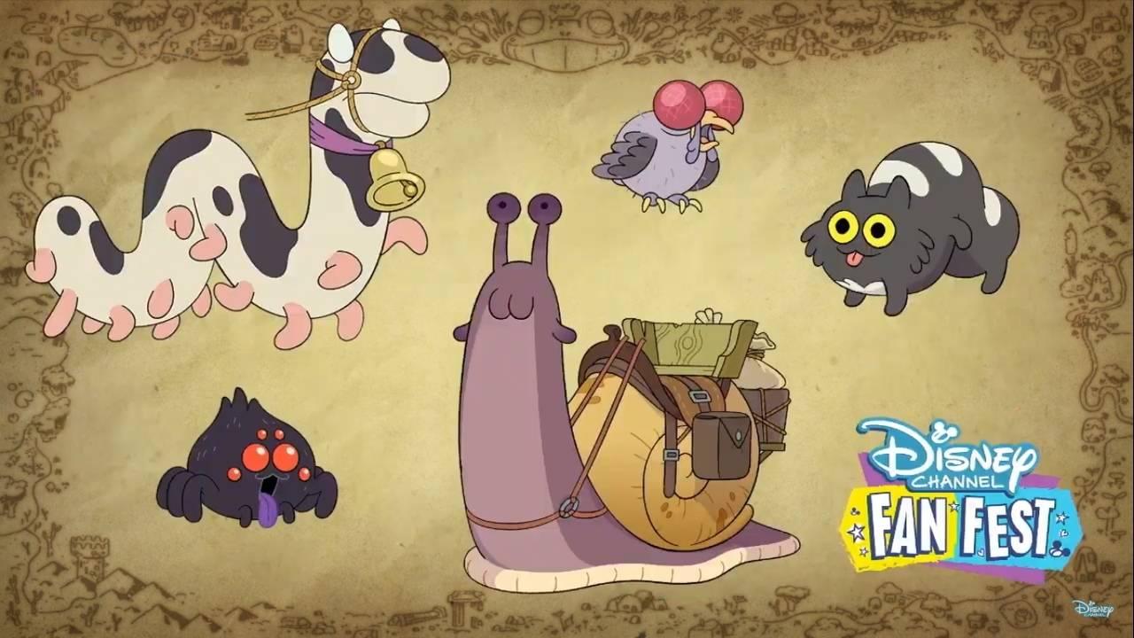 Первые кадры и видео «Амфибии» — мультсериала Disney про самовлюблённую девочку и разумную лягушку 5