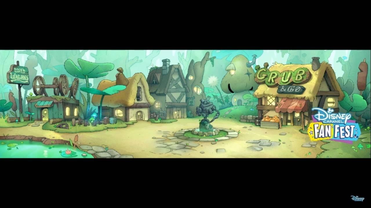 Первые кадры и видео «Амфибии» — мультсериала Disney про самовлюблённую девочку и разумную лягушку 2