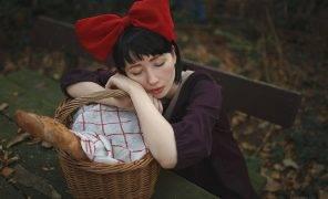 Косплей: Кики из«Ведьминой службы доставки»