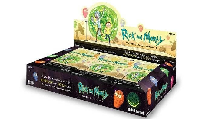 На CrowdRepublic стартовал предзаказ коллекционных карточек по сериалу «Рик и Морти»