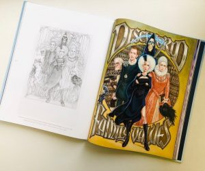 «Имаджинариум: Плоский мир» — артбук Пола Кидби по Пратчетту 3