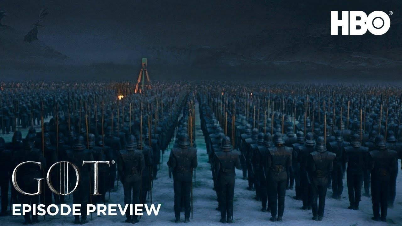 HBO выпустили тизер эпизода 8.03 «Игры престолов»