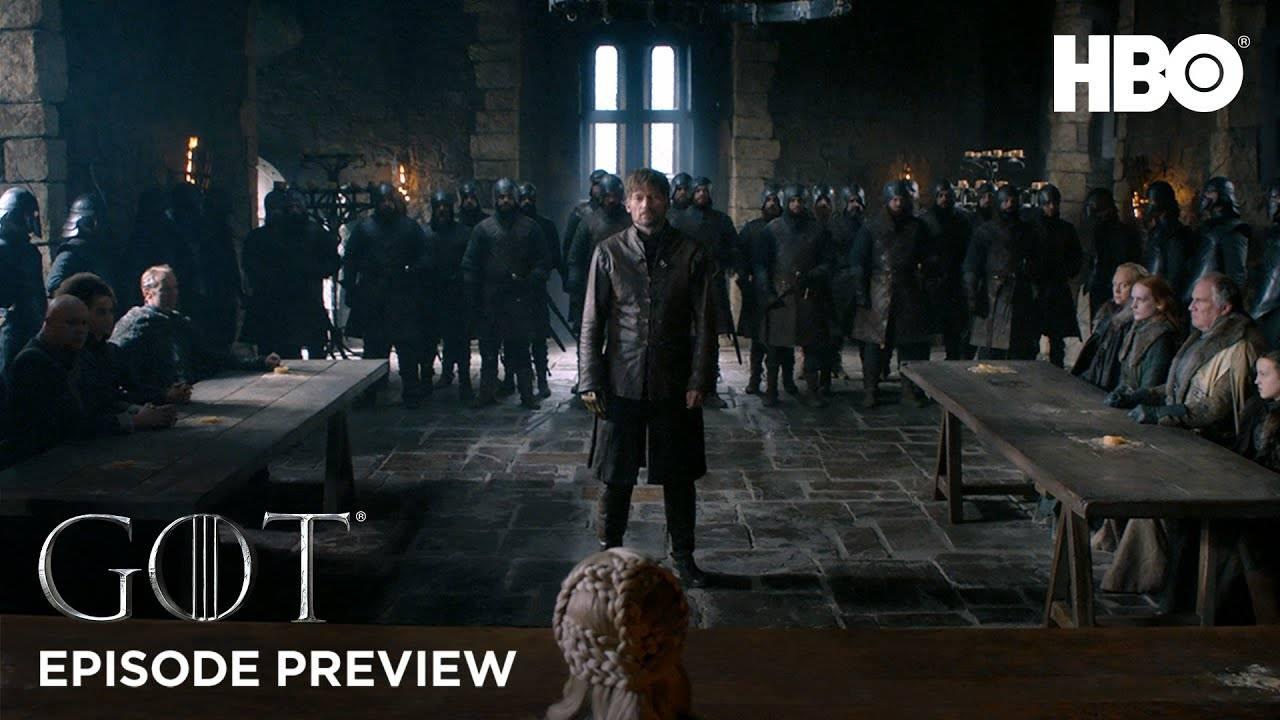 HBO выпустил тизер второго эпизода восьмого сезона «Игры престолов»