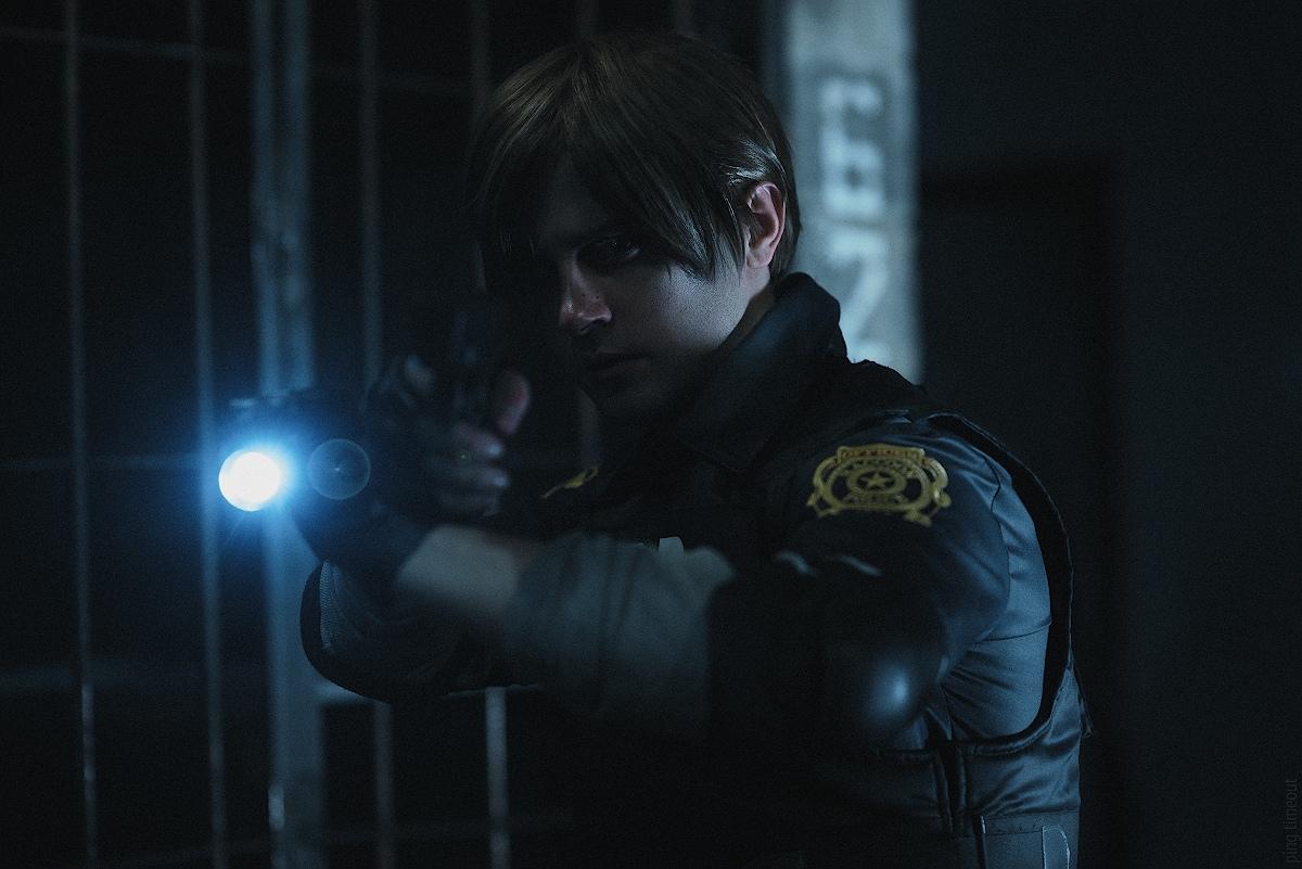 Косплей: Леон Кеннеди из Resident Evil 2 2