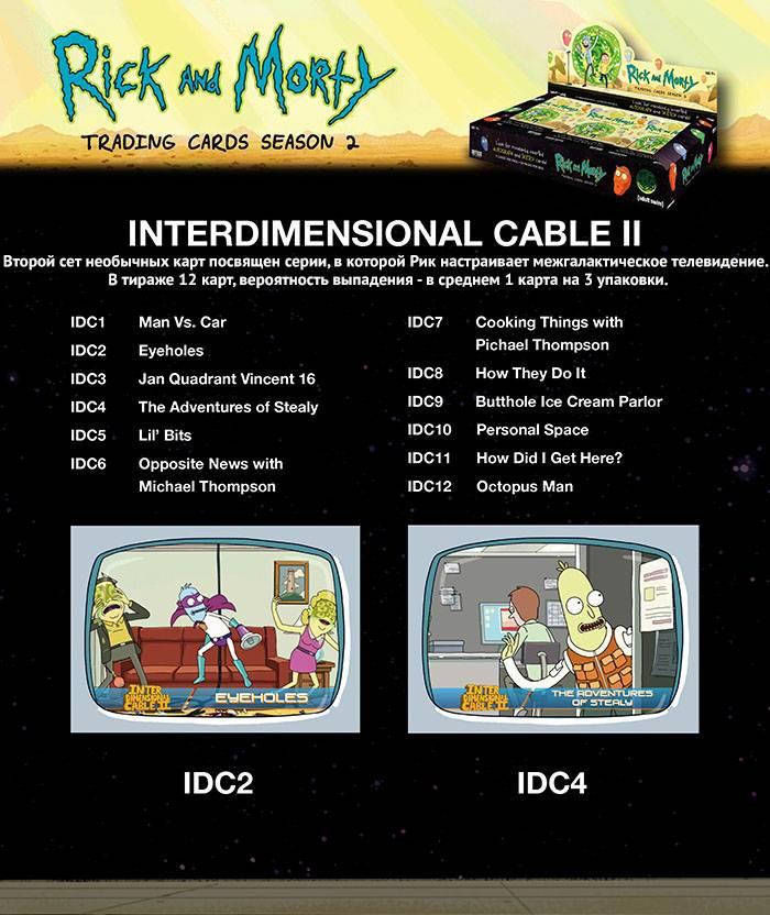 На CrowdRepublic стартовал предзаказ коллекционных карточек по сериалу «Рик и Морти» 2