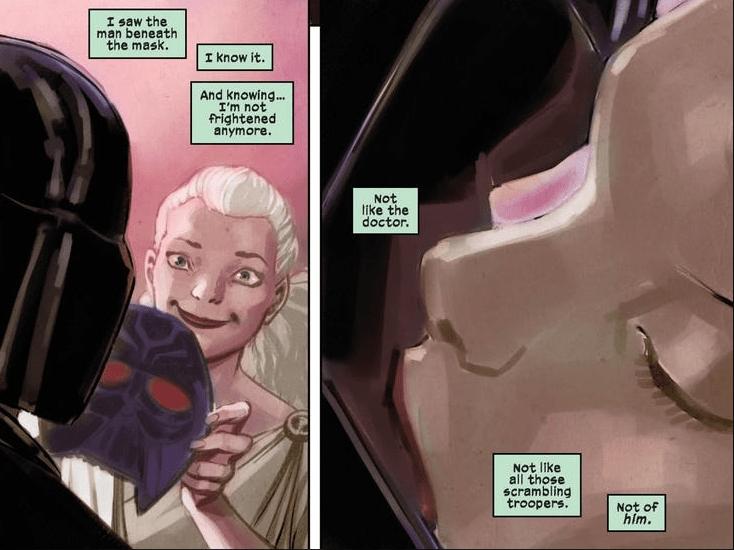 Автора «любовного» комикса про Дарта Вейдера раскритиковали из-за безымянной поклонницы владыки ситхов 1