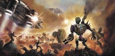 Роберт Каргилл «Море ржавчины»: мир, где остались только роботы