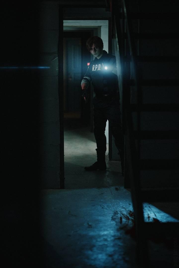 Косплей: Леон Кеннеди из Resident Evil 2 7