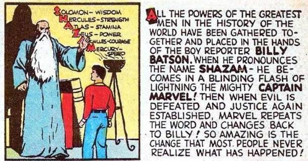 Шазам в комиксах: мальчик, который был популярнее Супермена 3
