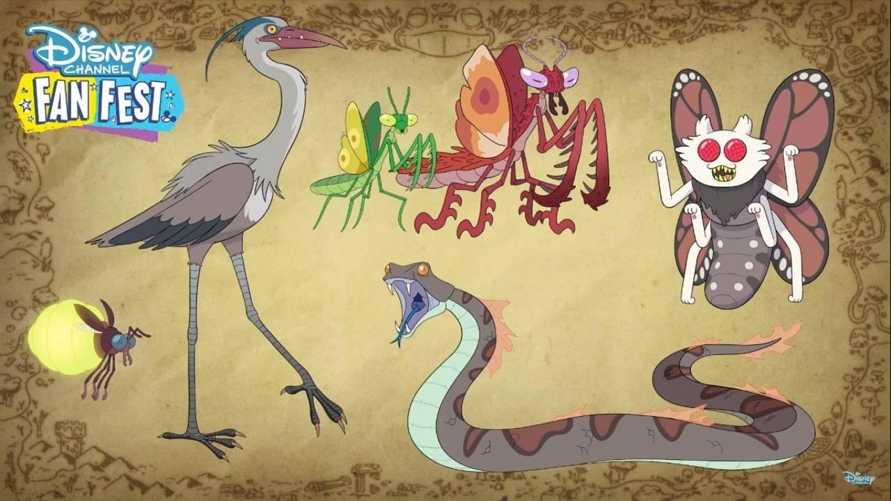 Первые кадры и видео «Амфибии» — мультсериала Disney про самовлюблённую девочку и разумную лягушку 4