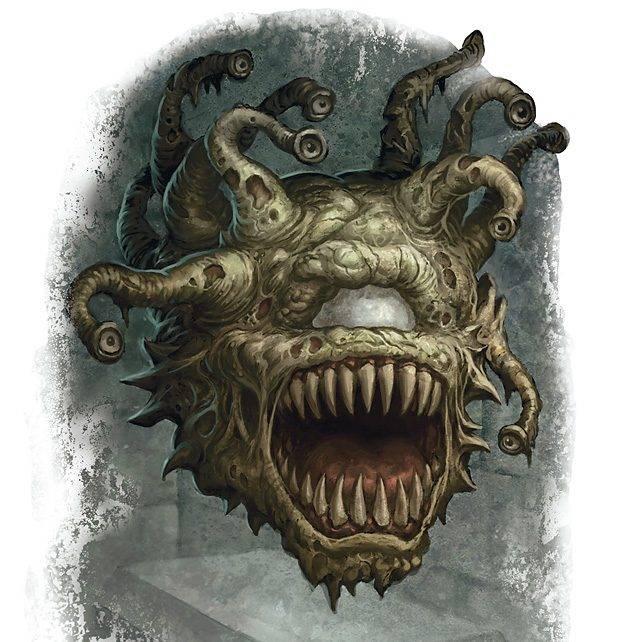 Бехолдеры. Злые глаза — символ D&D 7