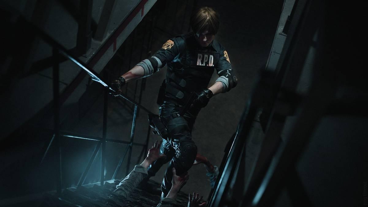 Косплей: Леон Кеннеди из Resident Evil 2 3