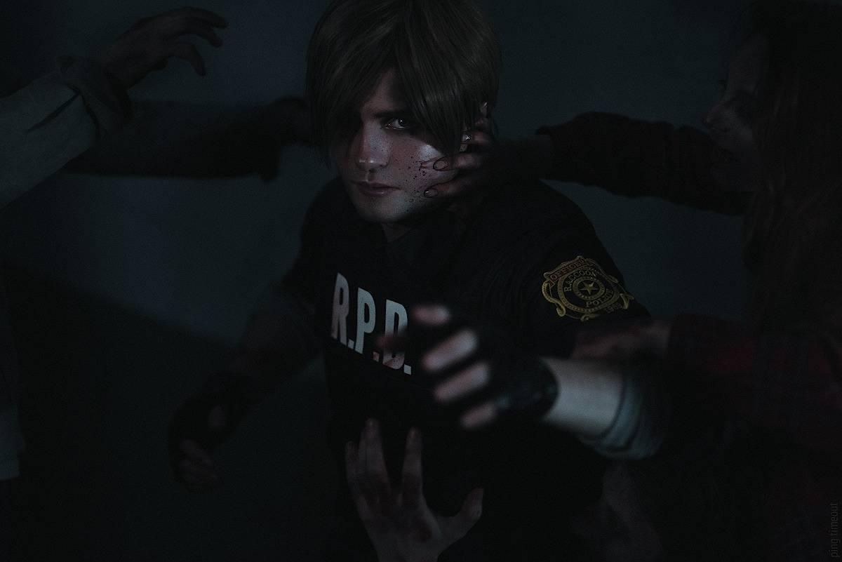 Косплей: Леон Кеннеди из Resident Evil 2 4