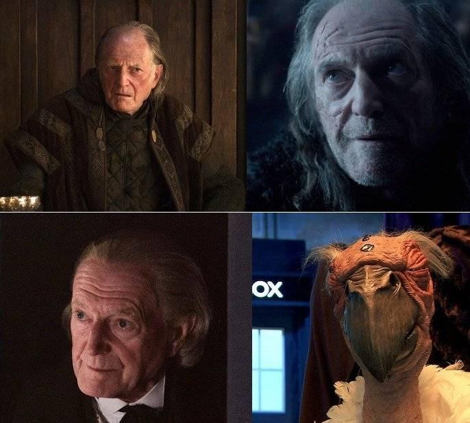 50 актеров, которые были и в «Игре престолов», и в «Докторе Кто» 21