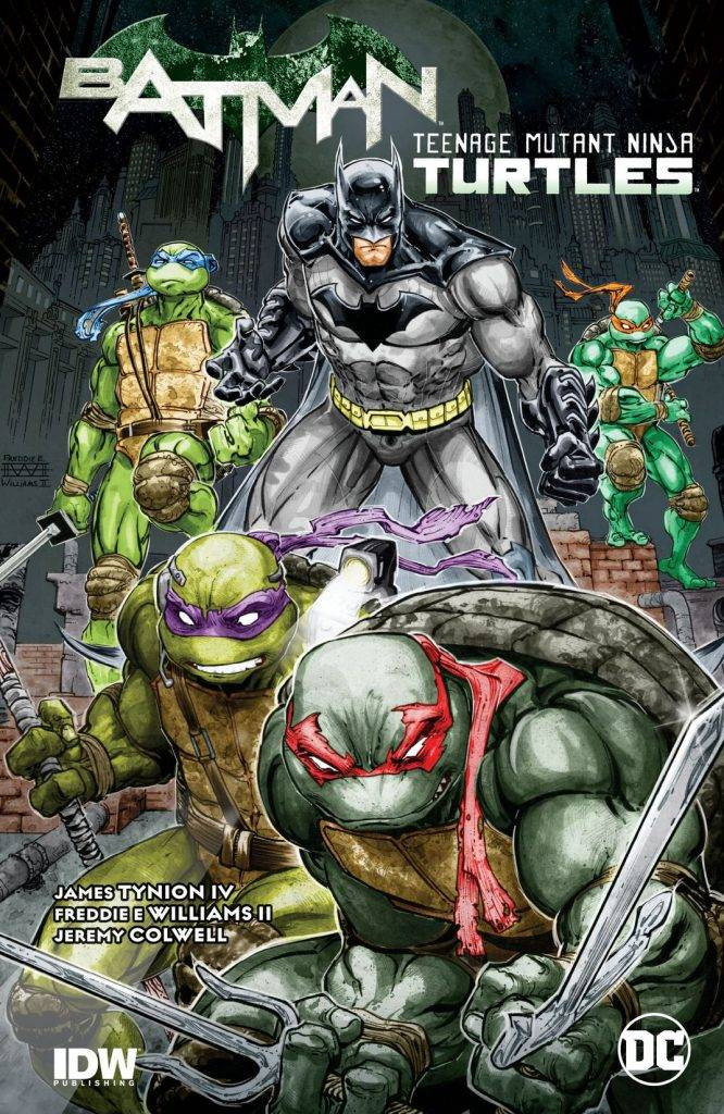 Бэтмен против Черепашек-ниндзя. Да, этот фильм реально сняли! 3
