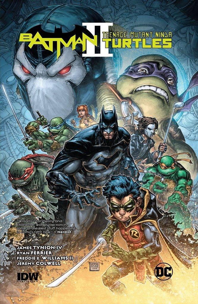 Бэтмен против Черепашек-ниндзя. Да, этот фильм реально сняли! 4