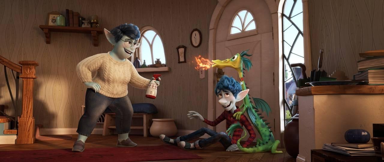 Первый тизер Onward — нового мультфильма от Pixar