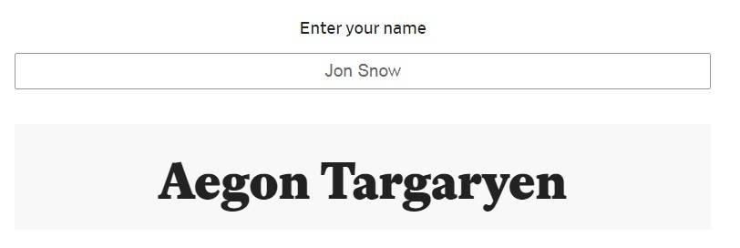 Генератор имён: как бы вас звали в «Игре престолов» 2