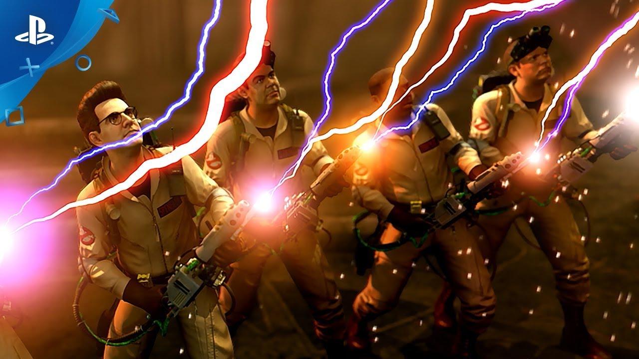 Первый трейлер ремастера видеоигры во вселенной «Охотников за привидениями»