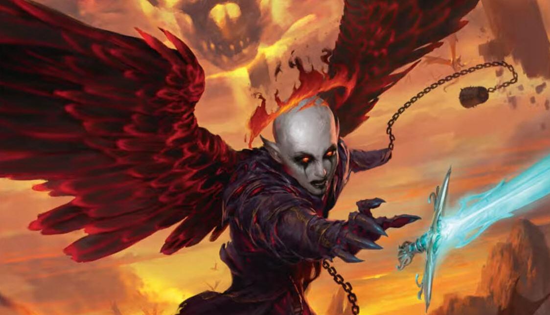 WotC объявили о выходе новой книги приключения — в ней герои отправятся в Ад