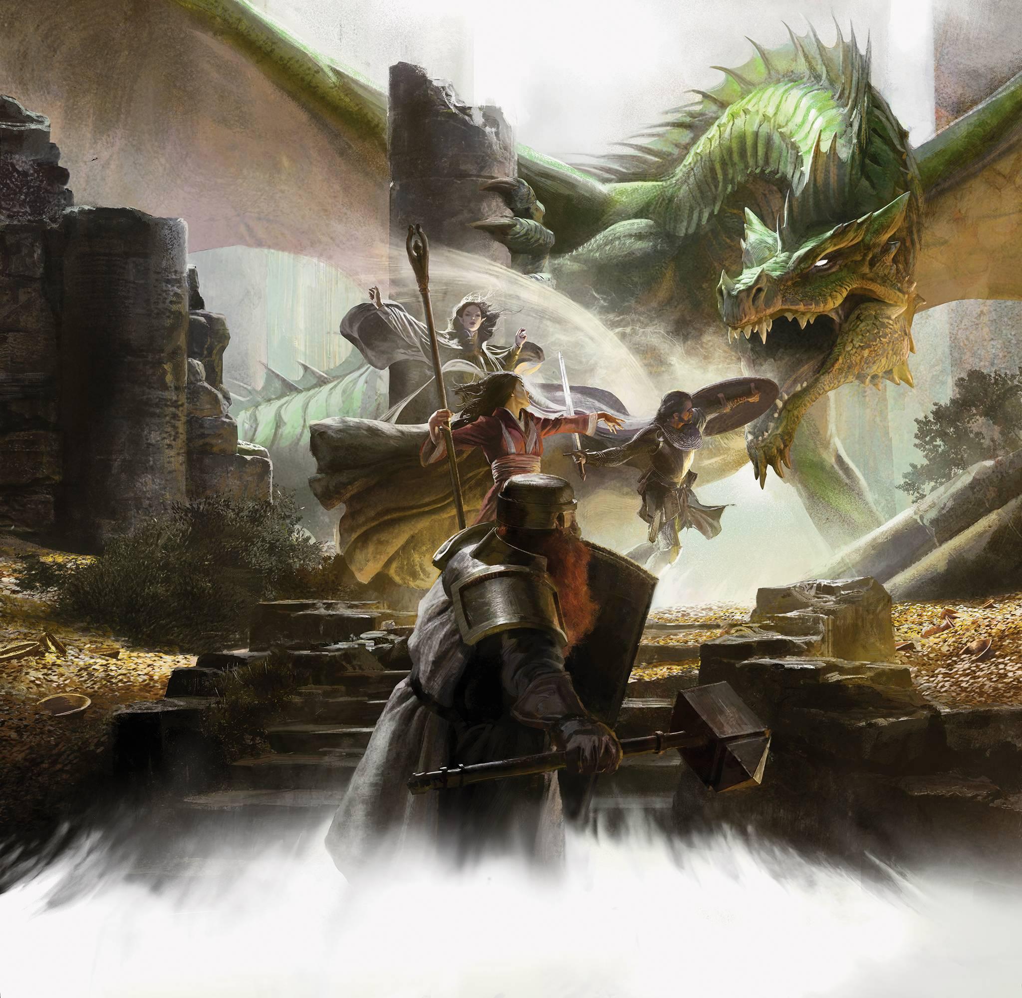 О Dungeons & Dragons на русском 1