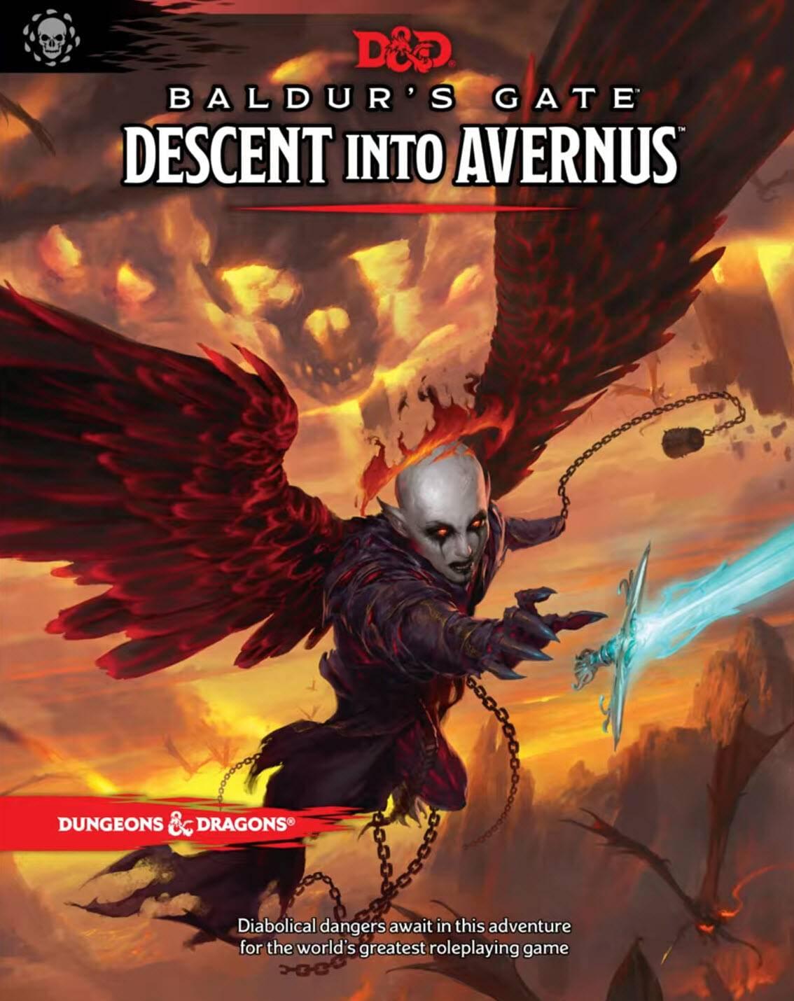 WotC объявили о выходе новой книги приключения для D&D — в ней герои отправятся в Ад