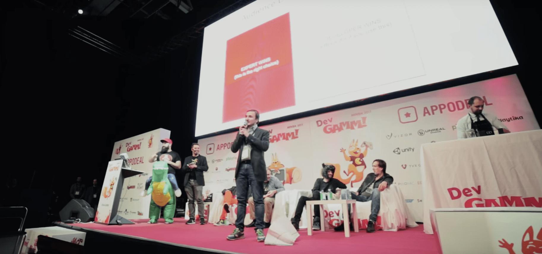 16 и 17 мая в Москве уже в шестой раз пройдёт DevGAMM — конференция  для разработчиков и издателей игр из СНГ