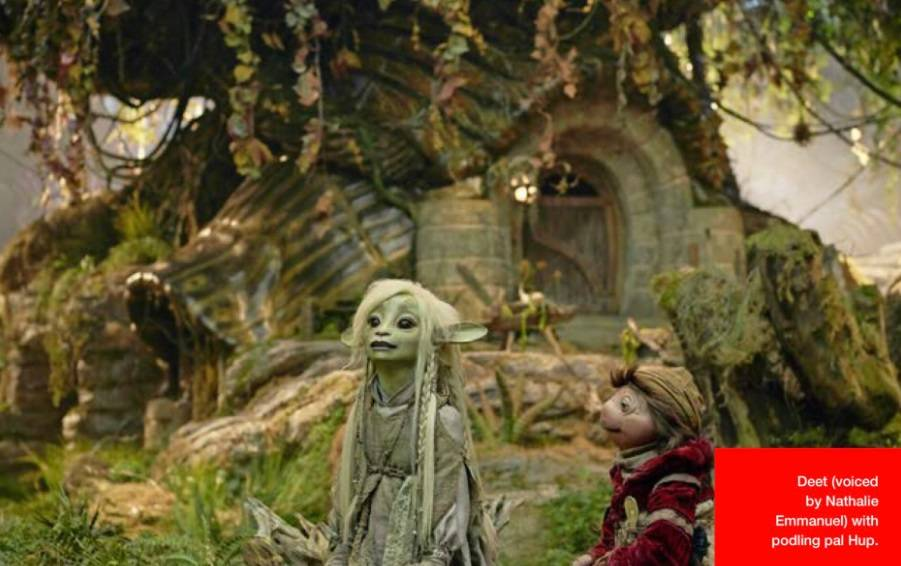 Первые кадры из кукольного сериала «Тёмный кристалл: Эпоха сопротивления» 1
