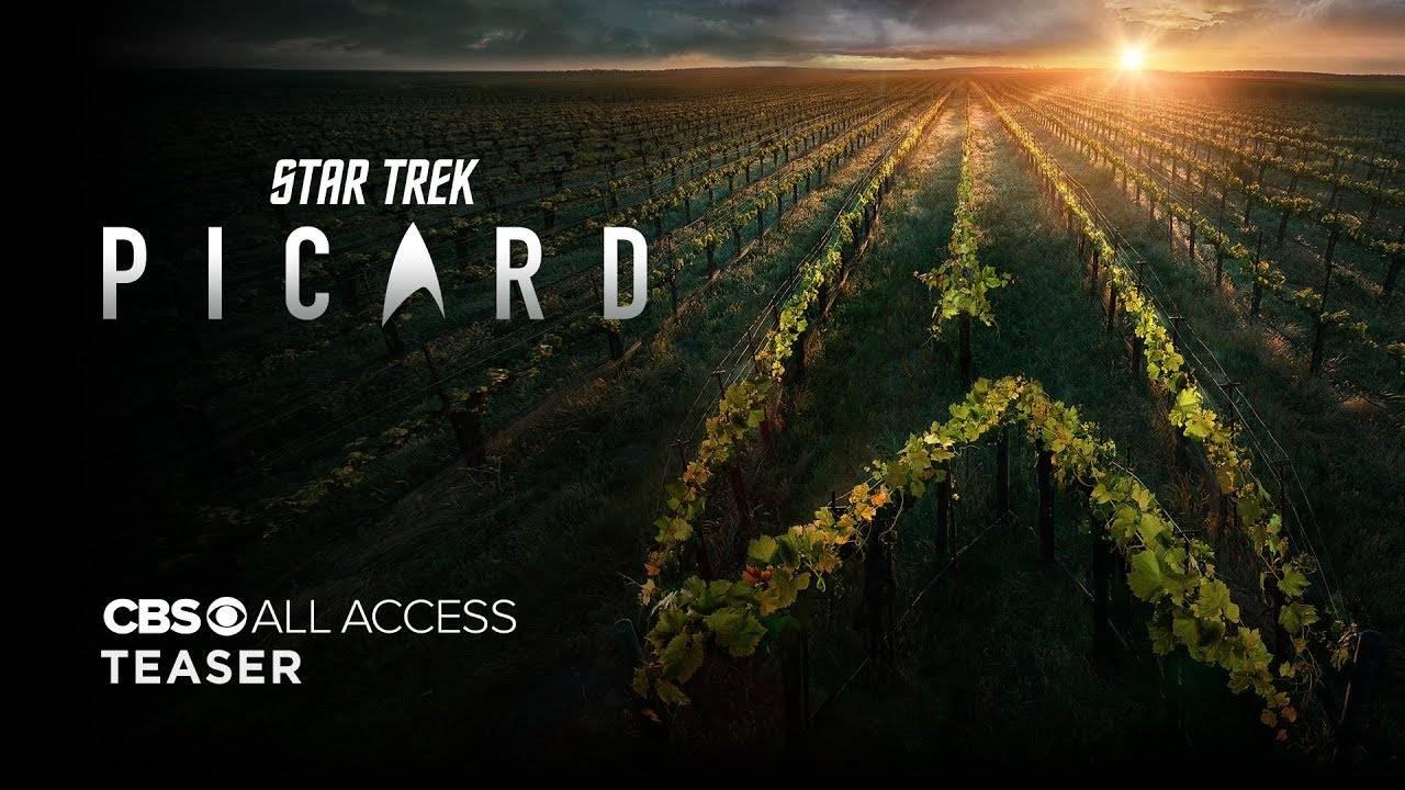Первый тизер сериала о Жане-Люке Пикаре из «Звёздного пути» 3