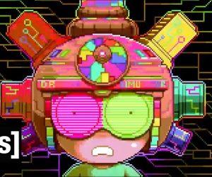 Пиксельное безумие: анимационный ролик по мультсериалу «Рик и Морти»