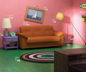 Фото: IKEA оформила комнаты в стиле «Очень странных дел», «Симпсонов» и «Друзей»