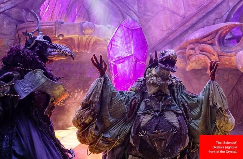 Первые кадры из кукольного сериала «Тёмный кристалл: Эпоха сопротивления» 2