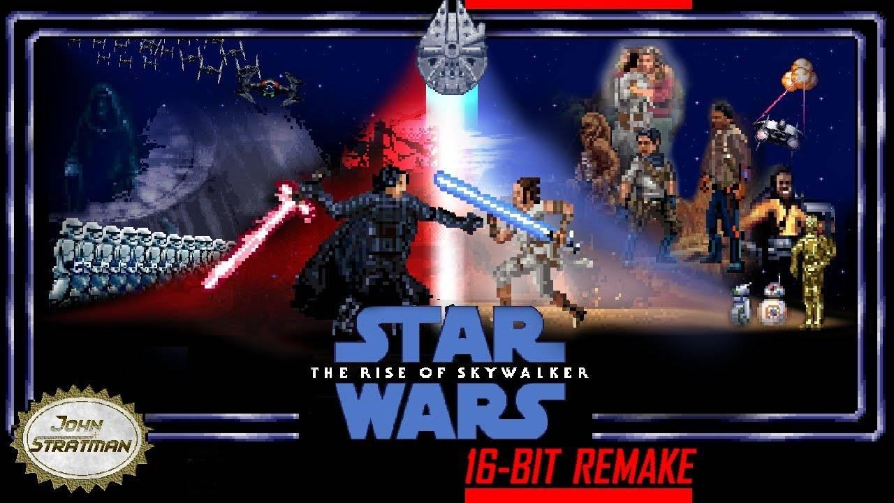 Видео: ретро-трейлер девятого эпизода «Звёздных войн»