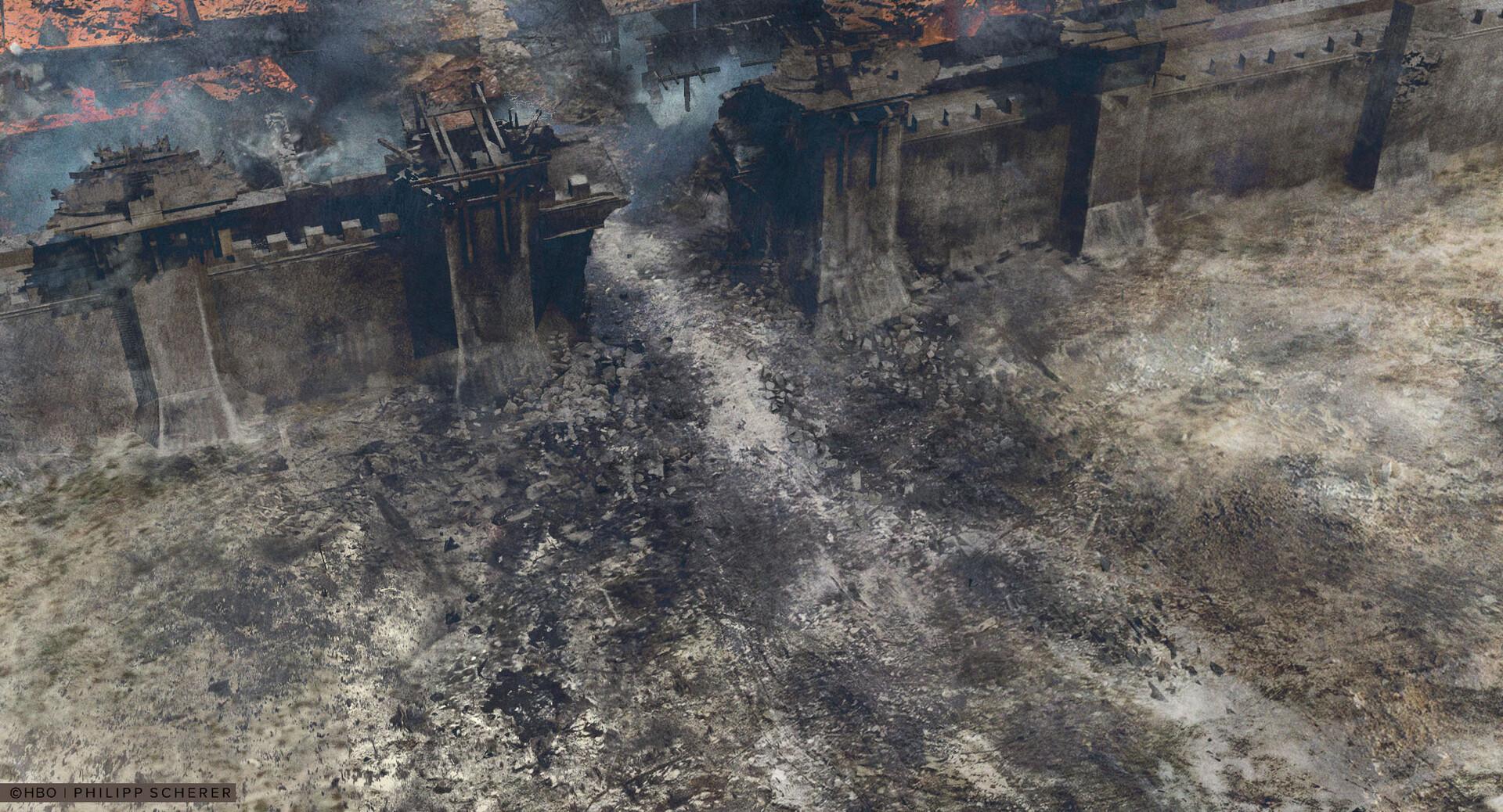 Концепт-арт: иллюстрации к восьмому сезону «Игры престолов»