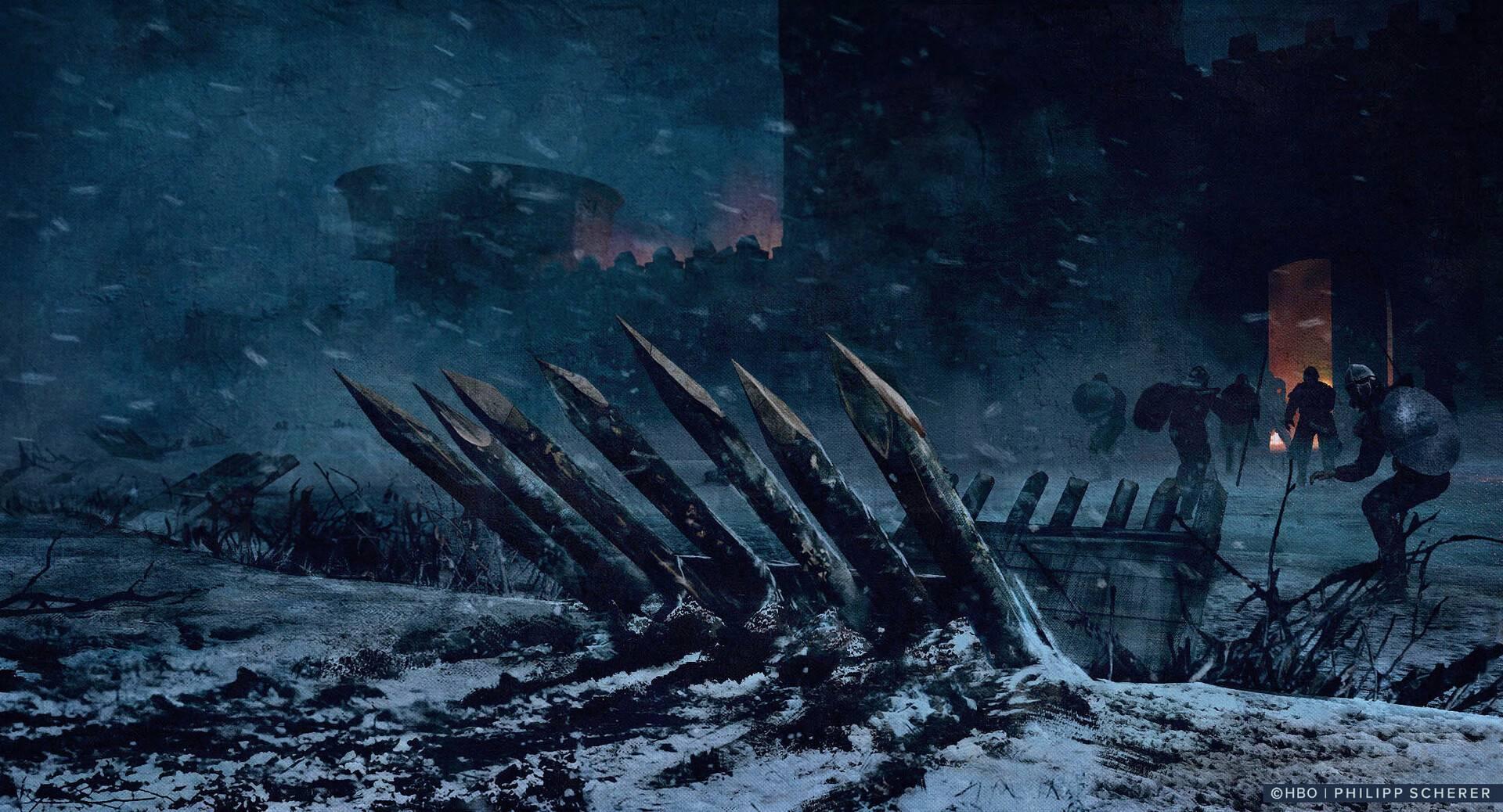 Концепт-арт: иллюстрации к восьмому сезону «Игры престолов» 3