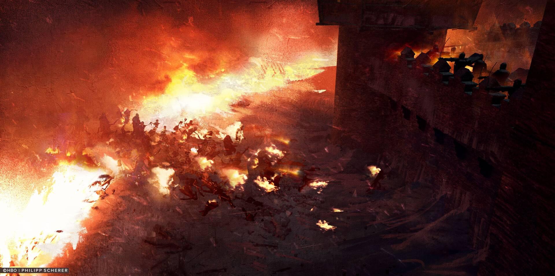 Концепт-арт: иллюстрации к восьмому сезону «Игры престолов» 11