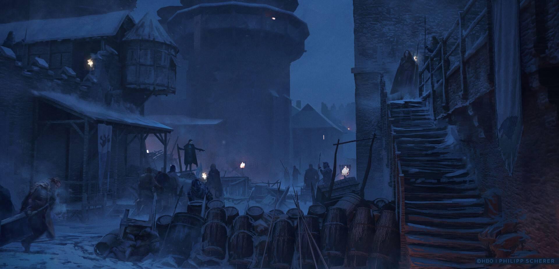 Концепт-арт: иллюстрации к восьмому сезону «Игры престолов» 10
