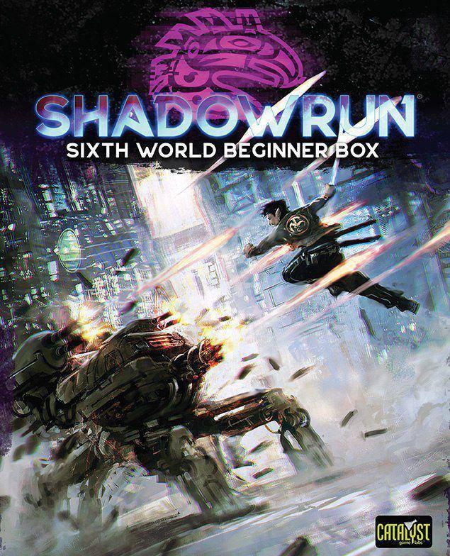 Catalyst анонсировали шестую редакцию настольной ролевой игры Shadowrun 1