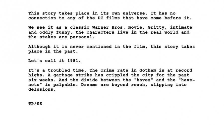 Наш автор прочитал сценарий «Джокера», и вот что там будет 2