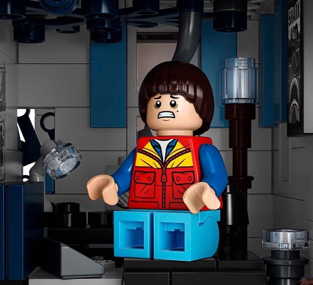 Компания LEGO анонсировала набор по «Очень странным делам» 1
