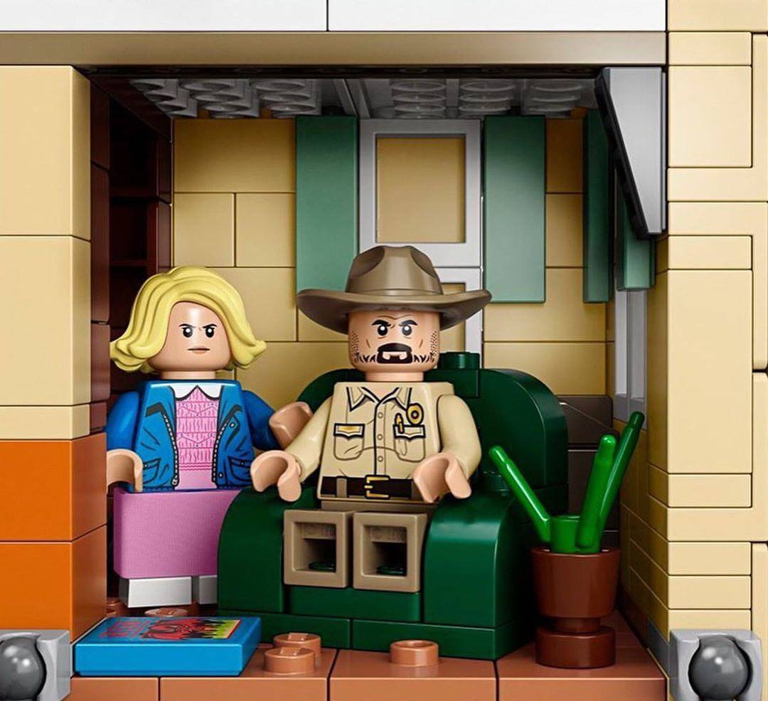 Компания LEGO анонсировала набор по «Очень странным делам» 2