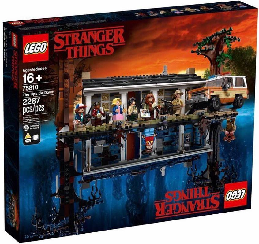 Компания LEGO анонсировала набор по «Очень странным делам» 5